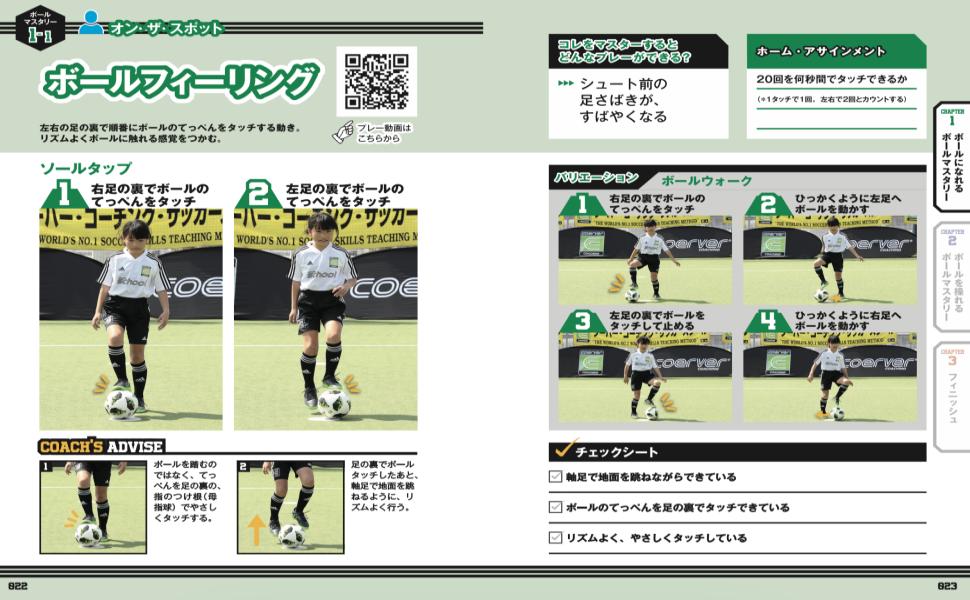 クーバーコーチング ジュニアサッカーを応援しよう! ジュニサカ サッカー 少年サッカー ジュニアサッカー トレーニング 練習メニュー ボールマスタリー