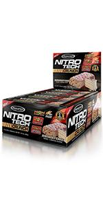 NitroTech Crunch Whey Protein Bar