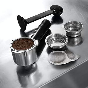 espresso machines Nespresso, DeLonghi