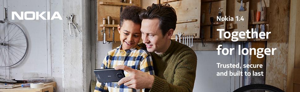 Nokia 1.4, android, smartphone, nokia, nokia mobile, android go, battery