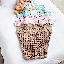 Amazoncom Bernat Baby Blanket Big Ball White