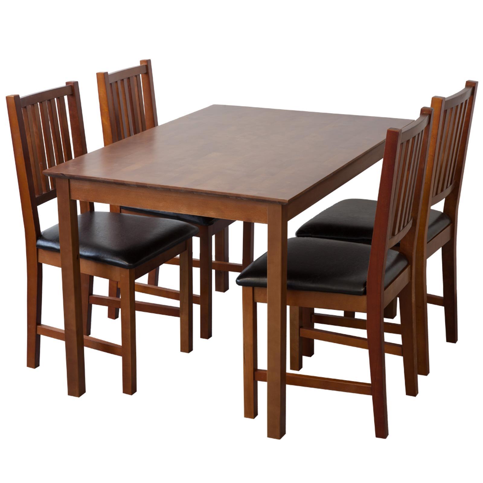 esszimmerst hle lucca nussbaum 2 x st hle k che haushalt. Black Bedroom Furniture Sets. Home Design Ideas