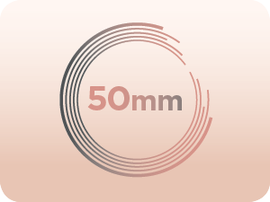 50 mm diamètre
