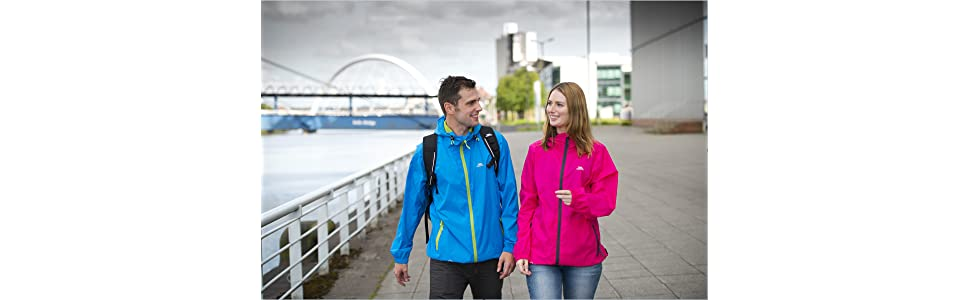 waterproof;trespass;water resistant;waterproof jacket;windproof;unisex;womens;mens;