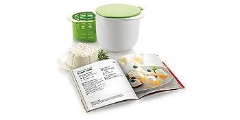 También disponible el kit completo con el utensilio para hacer tu propio queso