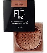 fit me loose powder, powder, translucent, makeup, face makeup, loose finishing powder