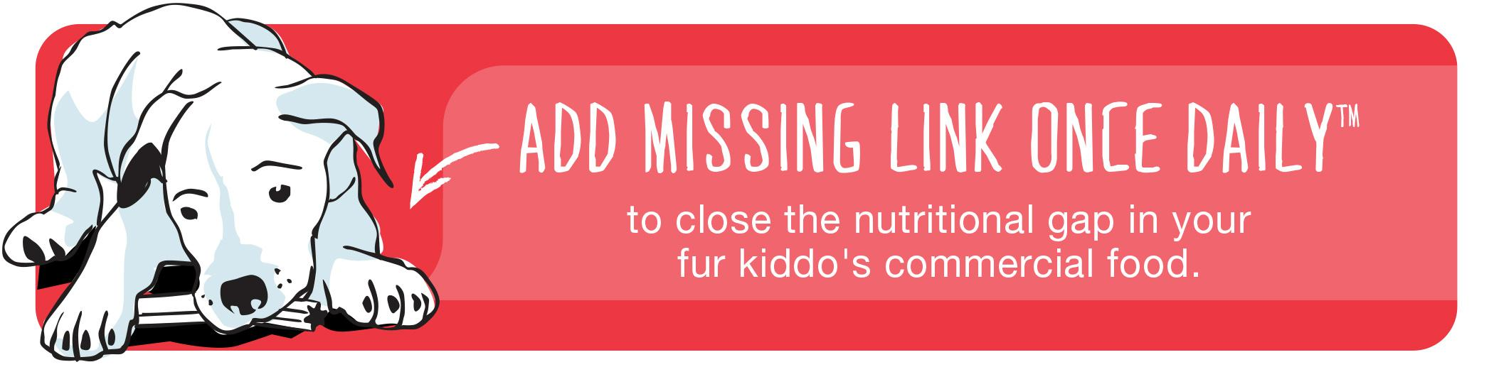 Amazon Missing Link Dog Food Supplement