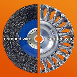 wire wheel knot wire wheel