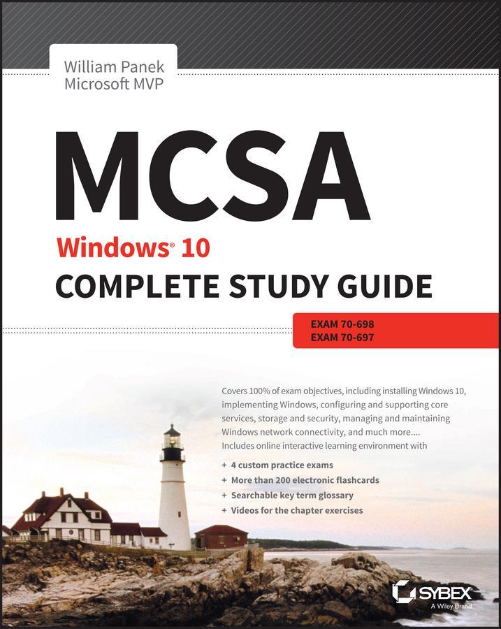 amazon com mcsa windows 10 complete study guide exam 70 698 and rh amazon com mcsa complete study guide pdf mcsa complete study guide 2016