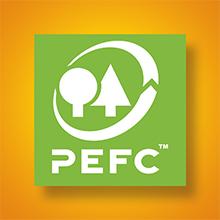 Certifié PEFC, carton issu de forêts gérées durablement et sources contrôlées, développement durable