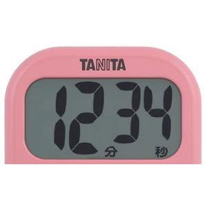 タニタ タイマー 大画面 100分 ホワイト TD-384 WH でか見えタイマー