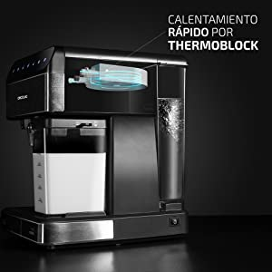 Cecotec Cafetera Semiautomatica Power Instant-ccino Touch Serie ...