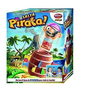 Juegos Bizak Tricky Salta Pirata (BIZAK 30697028): Amazon.es: Juguetes y juegos