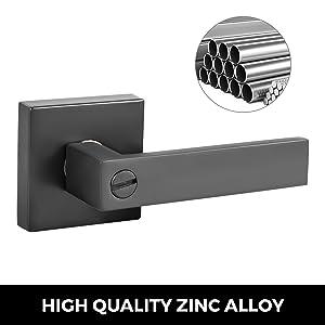 square door knob latch