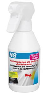 ... HG Eliminador manchas sudor y desodorante ...
