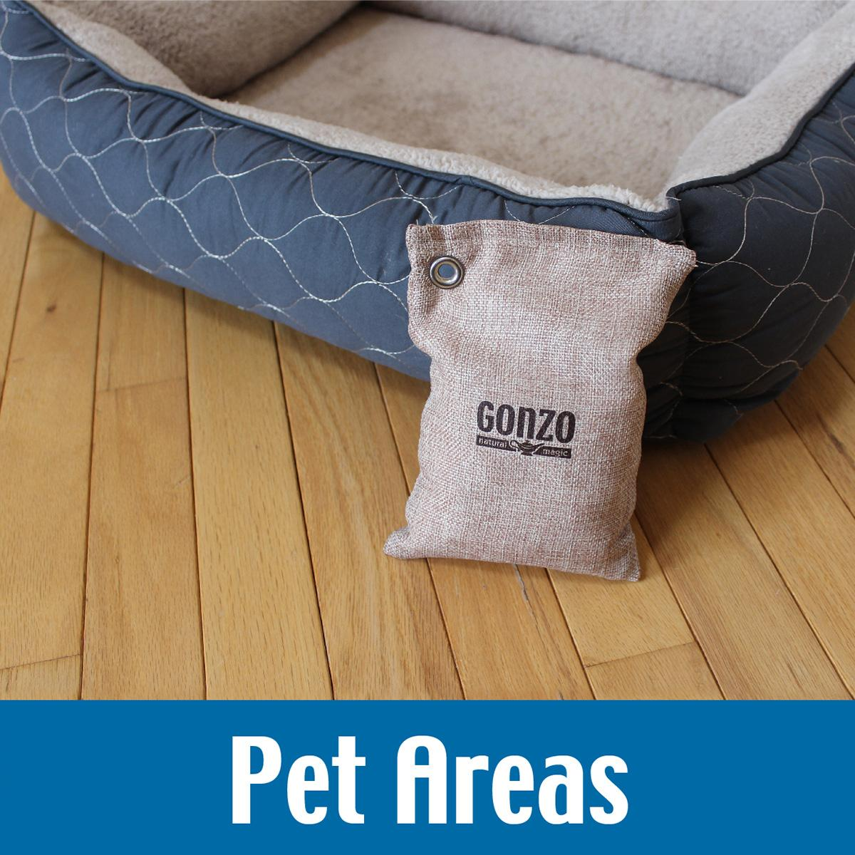 Gym Bag Odor: Gonzo Reusable Air Freshener