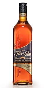 Ron Premium Flor de Caña 12 Años - 1 botella de 70 cl: Amazon ...