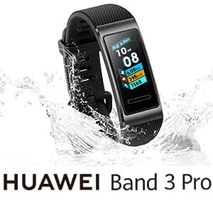 "Huawei Band 3 Pro 0,95"" AMOLED Touchscreen 24/7 Herzfrequenzmesser 5 ATM"