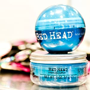 tigi bed head bedhead manipulator texture hair styling paste products style wax pomade gel hairstyle