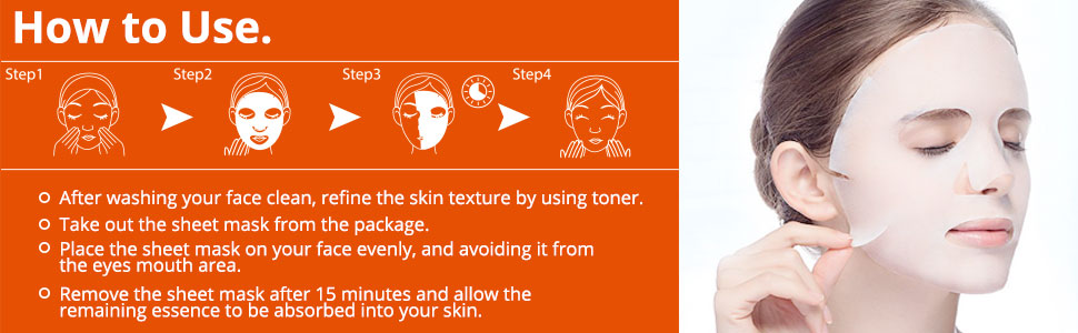 How to use for Face Mask