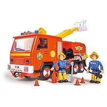 Sam pompiere, Sam, Fireman Sam, FMS, Pontypandy, auto dei pompieri, carrello a scala, luce blu, Jupiter