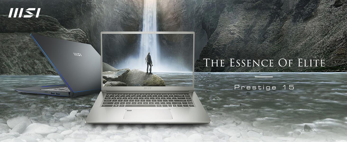 msi prestige 15 business laptop