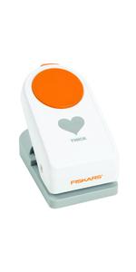 Radius Fiskars Perforatore squeeze per angoli Bianco//Arancione 1004737 3 in 1 Per mancini e destrorsi Acciaio di qualit/à//Plastica