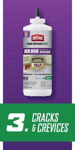 Ortho Home Defense MAX Bed Bug, Flea amp; Tick Killer Powder