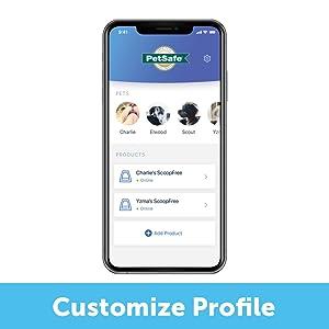 customize her profile