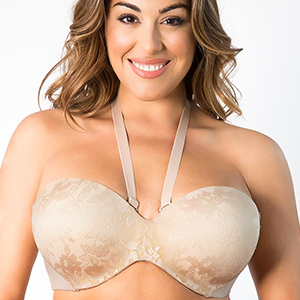 27c3d24f7f6ae A Bra That Holds You Up. The Strapless Sensation Convertible Push-Up ...