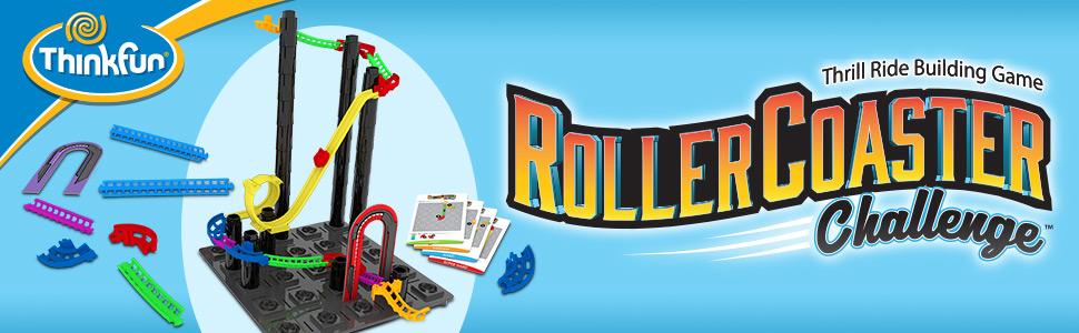 STEM toy, roller coaster, building set, logic game