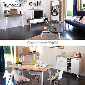 Symbiosis Prism Scandinave Bois Design Moderne Sobre Rangement
