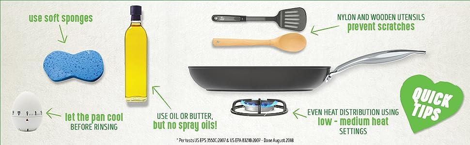 GreenLife, ceramic, nonstic, cookware, frypan