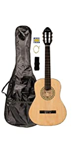 3/4 Size Natural Classical Guitar