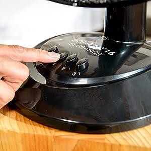 Taurus Ventilador Sobremesa PONENT 16 ELEGANCE, 41 W, 3 ...