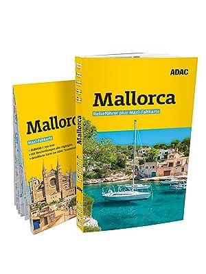 Mallorca, Reiseführer, Faltkarte, ADAC, ADAC Reiseführer