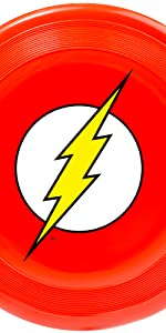 The Flash Barry Allen Justice League Frisbee Beach Toy Fetch Catch Dog Pet