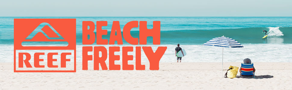 Voyage, Waterproof, Leather, sandals, reef, mens, beach freely
