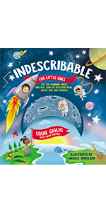 indescribable for little ones, louie giglio board book, indescribable board book