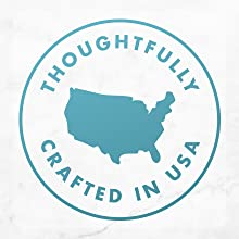 Thoughtfully crafted in USA