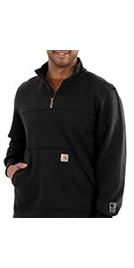 carhartt, mens, sweatshirts, work, workwear