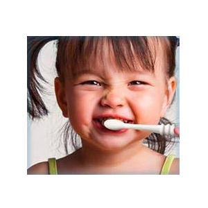 kiddo brushing