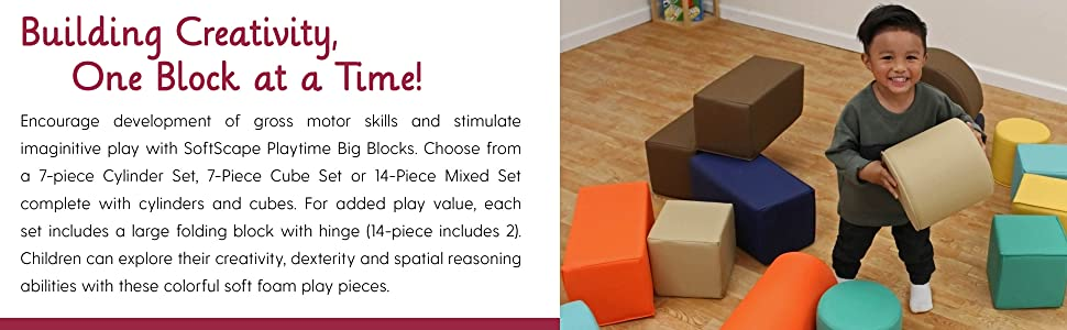 fdp, factory direct partners, playtime, softscape, blocks, foam, toddler, kids, playset, in-home