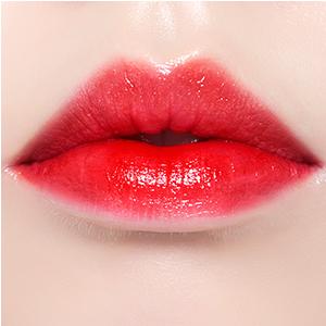 ぽってり唇 ラブリー ボリュームアップ カサカサ唇 長時間キープ 縦ジワをカバー 発色よい 発色つづく 鮮やかなカラー グラデーションリップ ティント 紫外線 乾燥 うるおい うるおう 女子力アップ