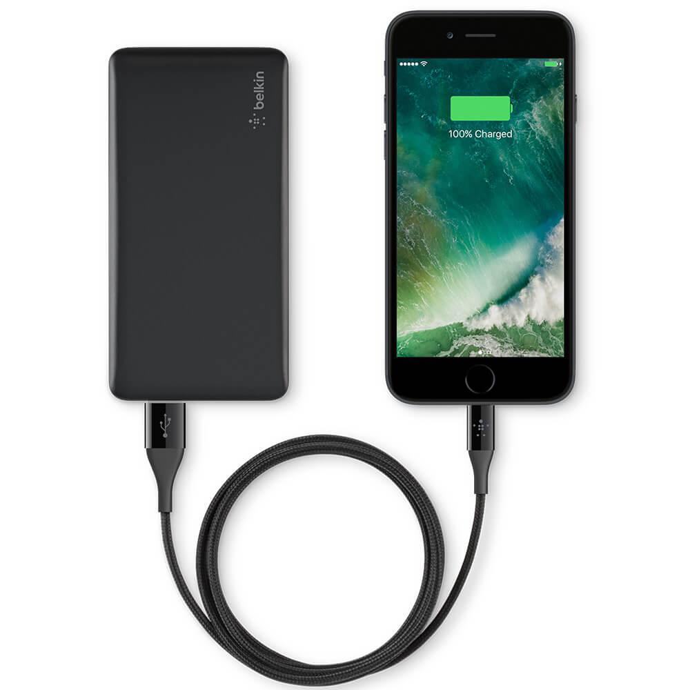 portable charger for iphone belkin power pack 5000 mah lithium polymer power bank 15883