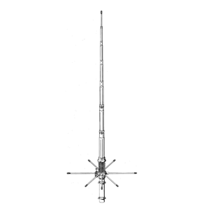 Sirio Antena 827, Antena CB Fija 5/8 、 Ground Plane, frecuencia 26.40 – 28.4MHz, Ganancia 3,65 dBi, Potencia máxima 3000 W (CW) Short Time, Altura 6,7 ...