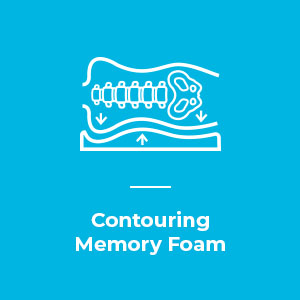 10 inch Contouring Memory Foam