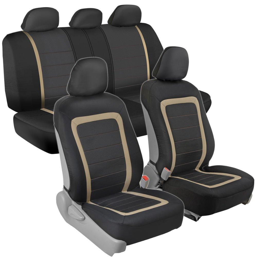 Fine Amazon Com Bdk Oneclick Installation Car Seat Covers Bralicious Painted Fabric Chair Ideas Braliciousco