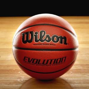 wilson; evolution basketball; basketball; wilson basketball; official basketball; youth basketball