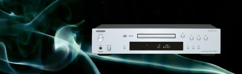 Onkyo C7030-S - Reproductor de CD, color plata